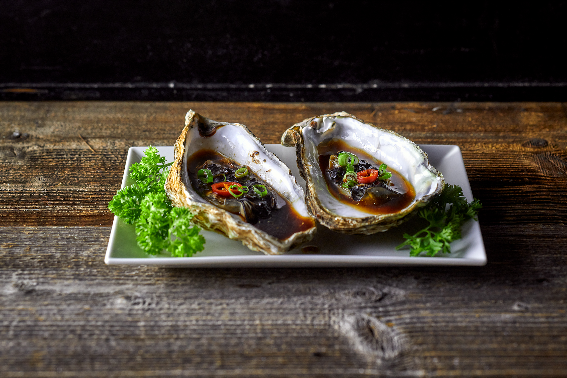 Hoi Tin Steamed oysters